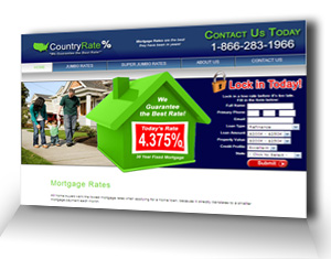 CountryRate Website Design